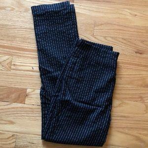 High Waisted Pinstripe Pants